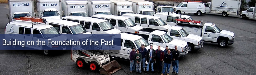 Dectam employee and fleet image